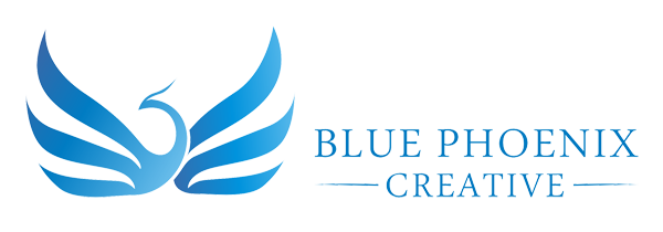 blue phoenix creative marketing logo