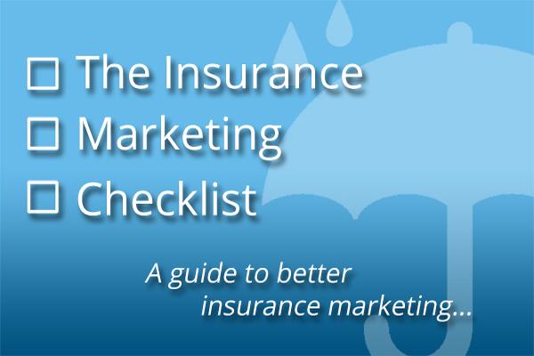 insurance marketing checklist