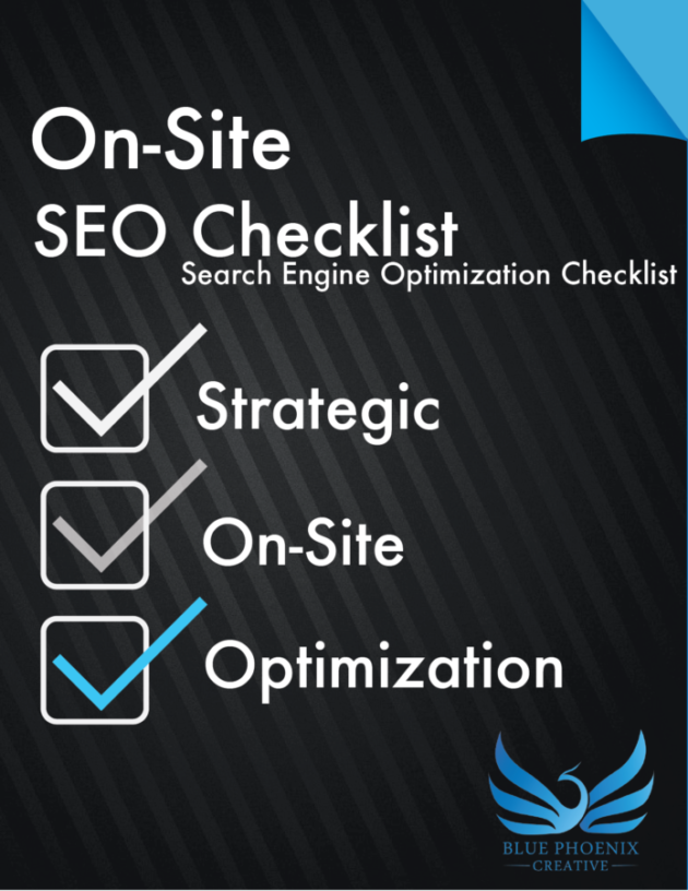 on-site SEO checklist