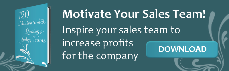 Download list to Motivate Your Sales Team