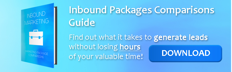 Inbound Marketing Package Comparisons Download