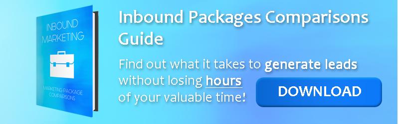 Inbound Marketing Package Comparisons Download